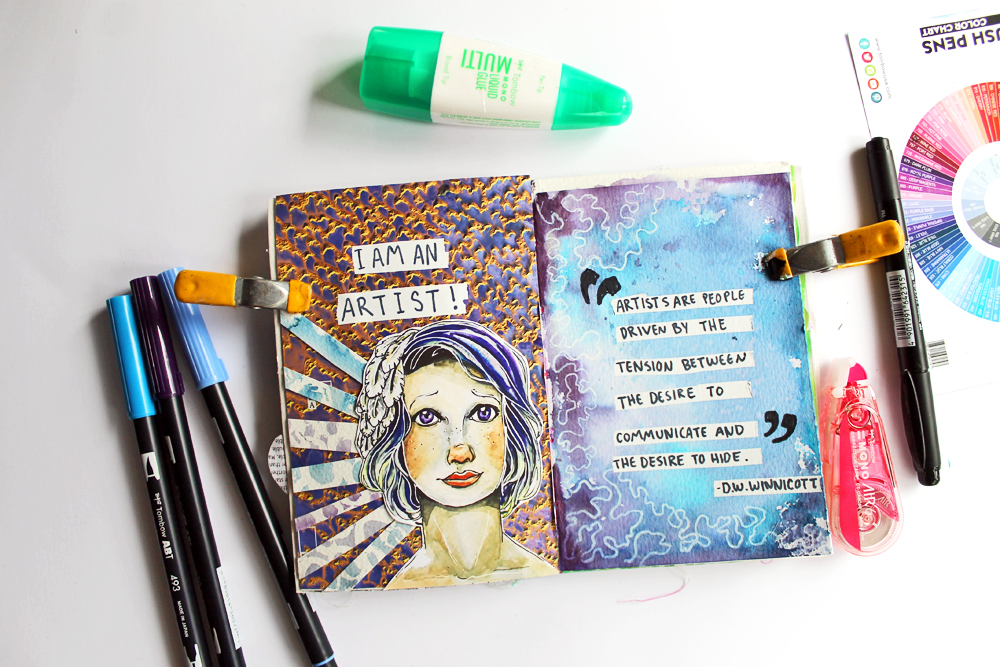 How To Sew In Your Art Journaling