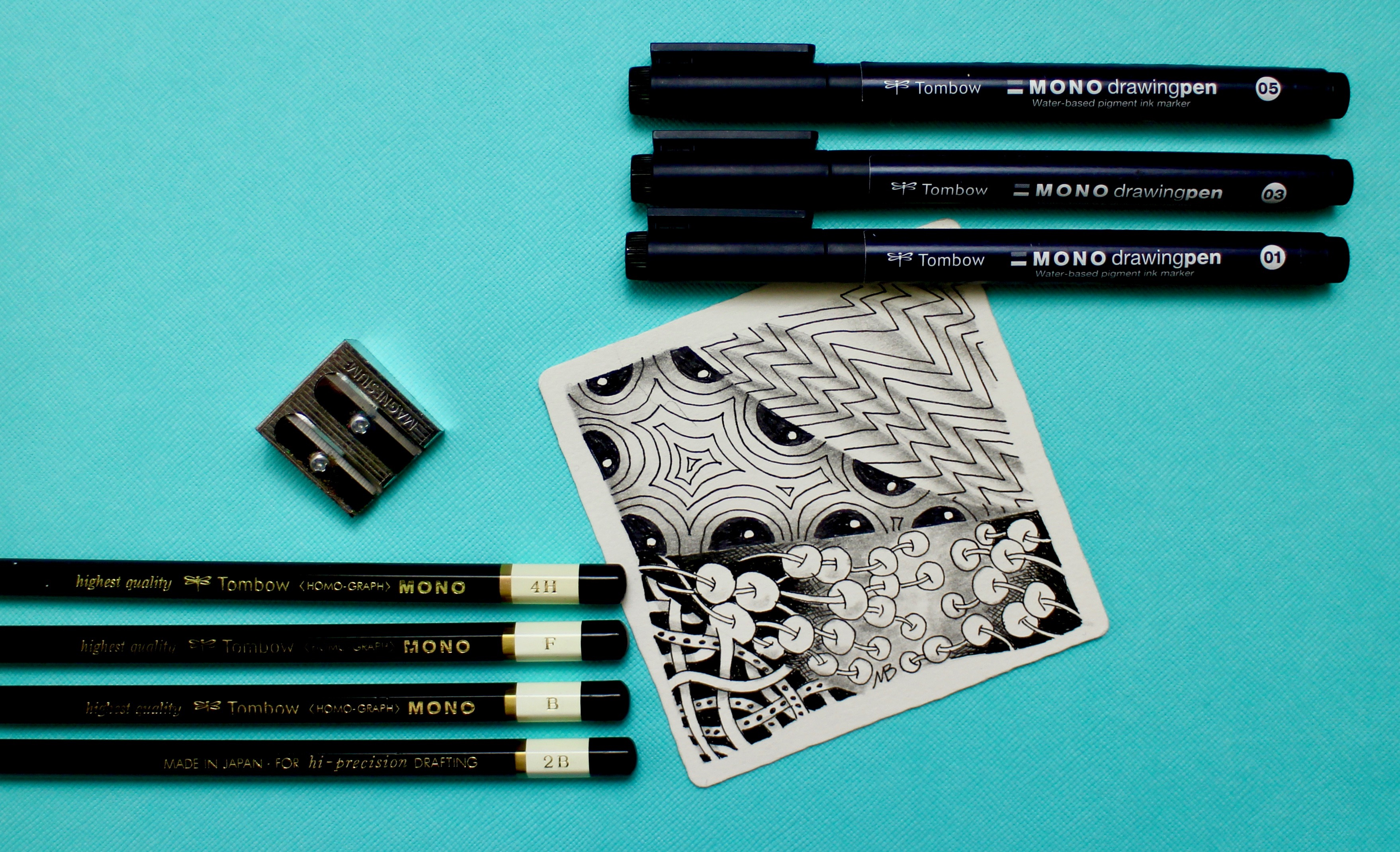 Five Reasons to Zentangle - Learn something new