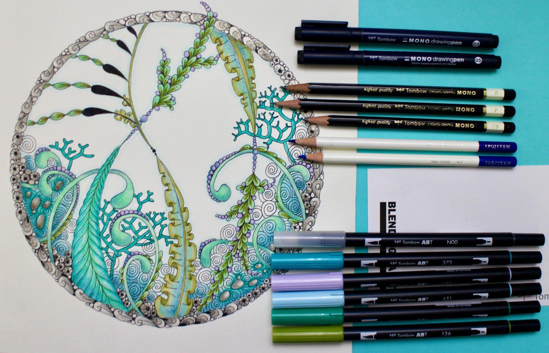 @mariebcreates #zentangle #zenart Five Reasons to Zentangle - Create Art