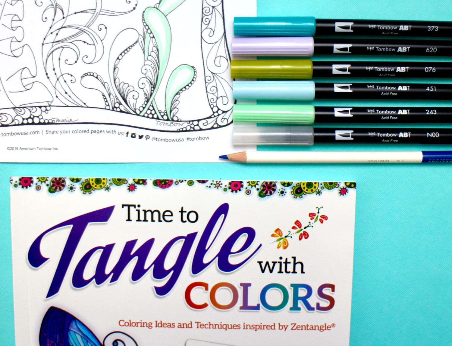@mariebcreates #twintone #coloredpencil Resources to help you