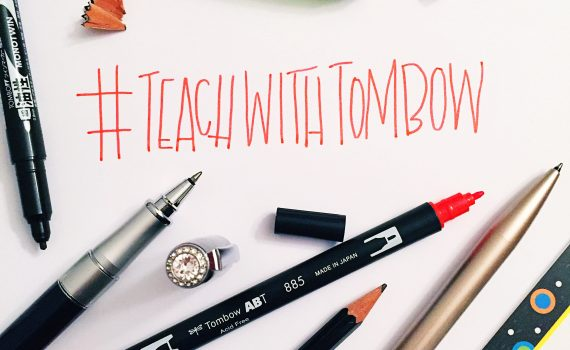 teach with tombow