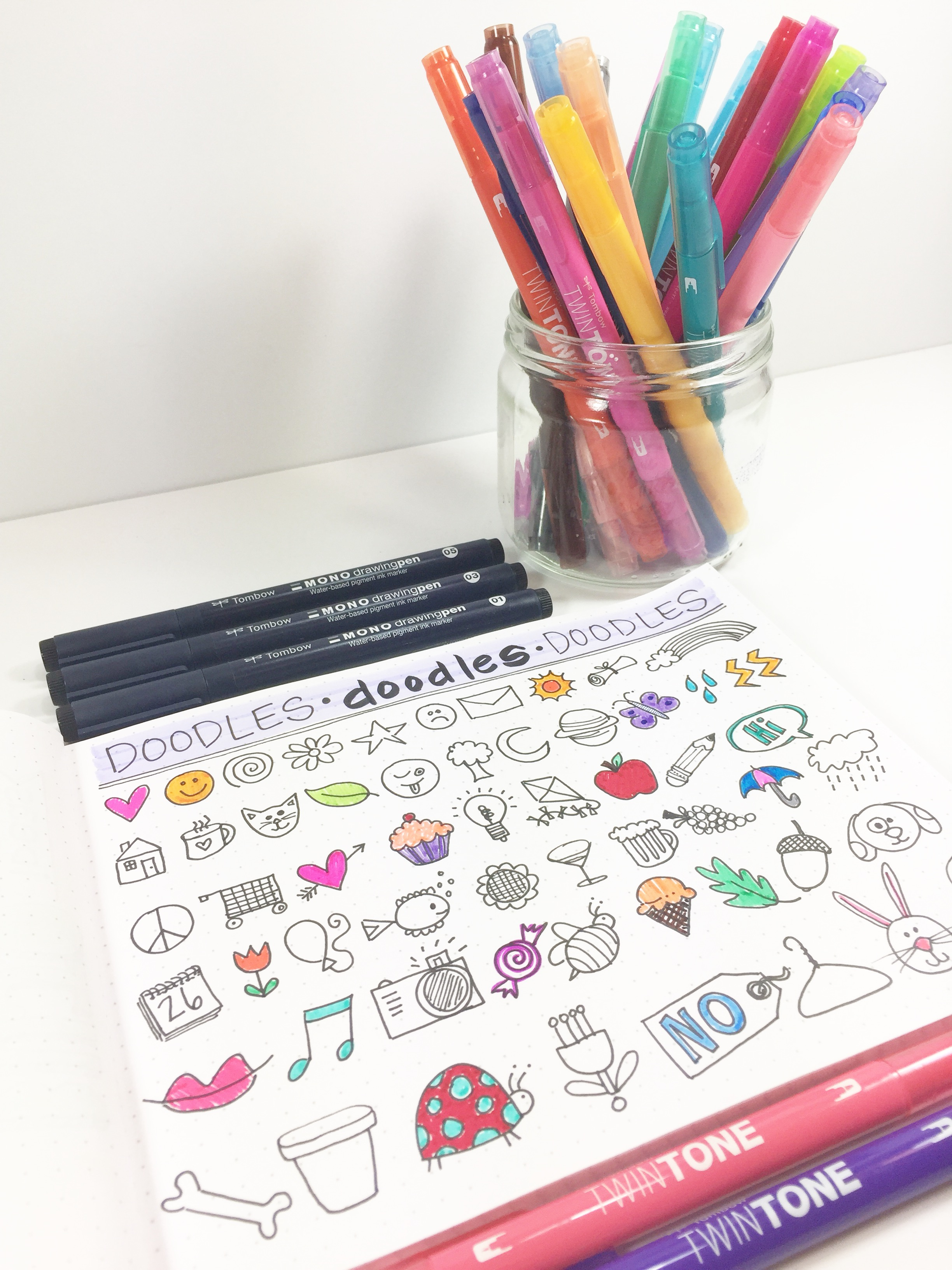 01-14-18 TOMBOW 5 WAYS TO KEEP YOUR BUJO ORGANIZED BETH WATSON
