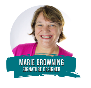 Tombow Signature Designer Marie Browning