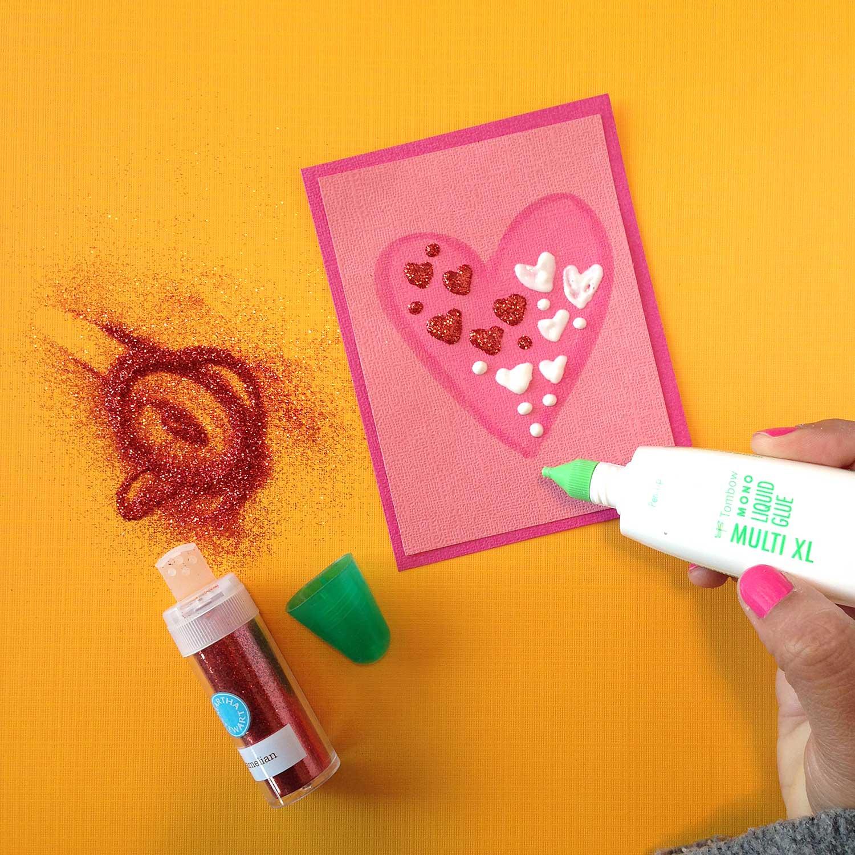 Smitha Katti Valentines glitter